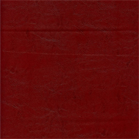 Bulhorn Red Faux Leather Upholstery Fabric Swatch