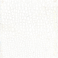 Excitement Suede Pearl White Animal Design Upholstery Fabric Swatch