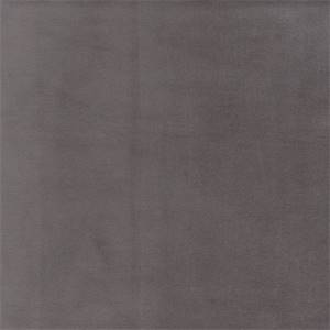 Gloria Charcoal Grey Solid Velvet Upholstery Fabric Swatch