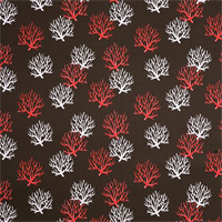 Outdoor Isadella Bay Brown Coral Reef Fabric