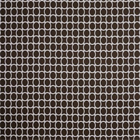 Outdoor Linked Bay Brown Geometic Fabric by Premier Prints Swatch