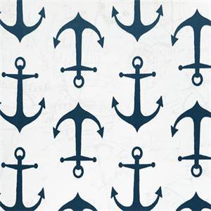 Outdoor Anchors Oxford Blue Fabric by Premier Prints 30 Yard Bolt