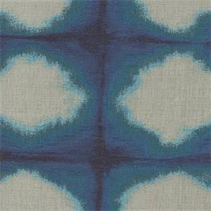 Hendrix Blue Contemporary Upholstery Fabric