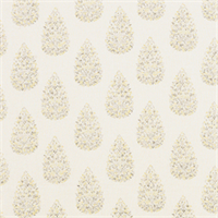 Kendara Lemongrass Yellow Floral Print Drapery Fabric by Duralee Swatch