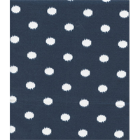 Outdoor Ikat Dots Oxford Blue Fabric by Premier Prints Swatch