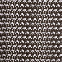 Outdoor Palms Bay Brown Fabric by Premier Prints Swatch
