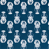 Outdoor Lobster Oxford Blue Fabric by Premier Prints