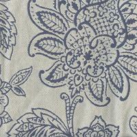 Belinda Blue Sky Floral Upholstery Fabric