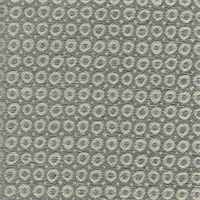 Bubbly Wedgewood Blue Contemporary Chenille Upholstery Fabric Swatch