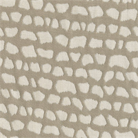 Sunbrella FF 45798-0001 Taupe Gray Animal Design Outdoor Fabric 5 Yard Piece