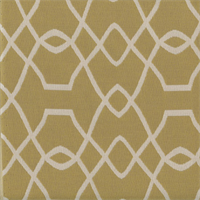 Sunbrella FF 45741-0004 Gold Natural Geometric Outdoor Fabric 5 Yard Piece