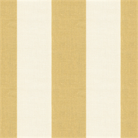 Metallic Gold Stripe Linen Drapery Fabric  3 Yard Piece