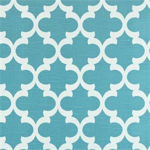 Fynn coastal Blue Slub Contemporary Drapery Fabric by Premier Prints Swatch