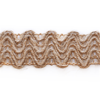 Ir6831 NT Natural Woven Braid Trim