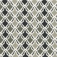 On Display Licorice Black Contemporary Drapery Fabric Swatch