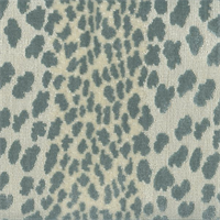 Meoww Mist Glue Animal Design Chenille Upholstery Fabric by P Kaufmann Swatch