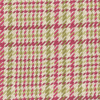 Huntington Fuchsia Pink Plaid Upholstery Fabric Swatch