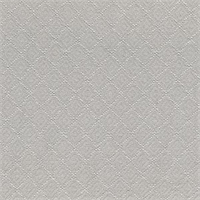 Newport Fog Grey Diamond Matelasse Fabric Swatch