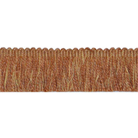Bendu Rust Orange Brush Fringe