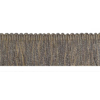 Bendu Grain Grey Brush Fringe