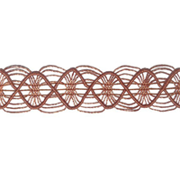 Topiko Rust Orange Braid Trim