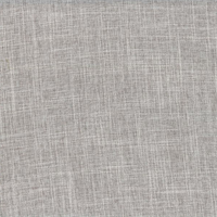 Vision Smoke Grey Solid Linen Look Drapery Fabric Swatch
