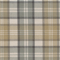 West Abbott Sandstone Tan Plaid Drapery Fabric