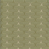 Deco Ziggy Mint Julep Green Contemporary Embossed Faux Silk Fabric