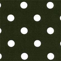 Polka Dots Black/White by Premier Prints - Drapery Fabric