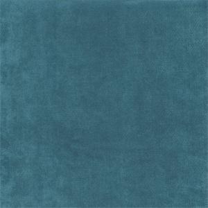 Celeste Calypso Blue Velvet Solid Upholstery Fabric Swatch