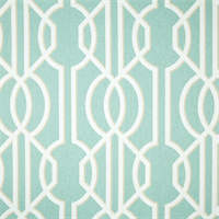 Deco Spa Green Contemporary Cotton Print Drapery Fabric by Richtex Premium Prints