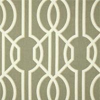 Deco Slate Grey Contemporary Cotton Print Drapery Fabric by Richtex Premium Prints