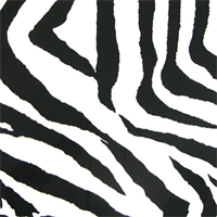 Zebra Black/White by Premier Prints - Drapery Fabric