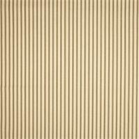 Cottage Shadow Brown Striped Cotton Print Drapery Fabric by Richtex Premium Prints
