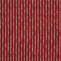 Skyfall Crimson Red Striped Cotton Print Drapery Fabric by Premium Prints