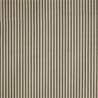 Cottage Caviar Black Striped Cotton Print Drapery Fabric by Richtex Premium Prints Swatch