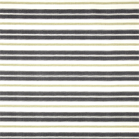 Hamtpton Grey Striped Cotton Print Drapery Fabric by Premium Prints