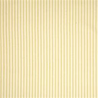 Cottage Yellow Striped Cotton Print Drapery Fabric by Richtex Premium Prints 30 Yard Bolt