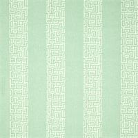 Plaza Spa Green Stripe Cotton Print Drapery Fabric by Premium Prints 30 Yard Bolt