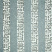 Plaza Steel Grey Stripe Cotton Print Drapery Fabric by Premium Prints 30 Yard Bolt