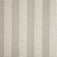 Plaza Slate Grey Stripe Cotton Print Drapery Fabric by Premium Prints 30 Yard Bolt