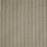 Cottage Caviar Black Striped Cotton Print Drapery Fabric by Richtex Premium Prints 30 Yard Bolt