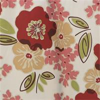 Sydney Rainforest Green Floral Cotton Print Drapery Fabric by Premium Prints 30 Yard Bolt