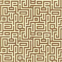 Interlochen Chocolate Brown Contemporary Cotton Print Drapery Fabric by Premium Prints 30 Yard Bolt