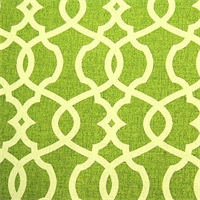 Emory Leaf Green Contemporary Cotton Print Drapery Fabric by Richtex Premium Prints 30 Yard Bolt