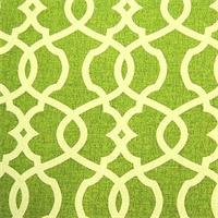 Emory Leaf Green Contemporary Cotton Print Drapery Fabric by Richtex Premium Prints 30 Yard Bolt