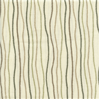 Streamers Nature Brown Striped Cotton Print Drapery Fabric by Premium Prints 30 Yard Bolt