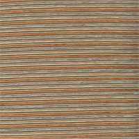 Deco Cinema Acorn Orange Stripe Faux Silk Fabric