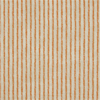Skyfall Tango Orange Striped Cotton Print Drapery Fabric by Premium Prints Swatch