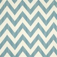Chevy Sailor Blue Cotton Print Drapery Fabric by Richtex Premium Prints Swatch